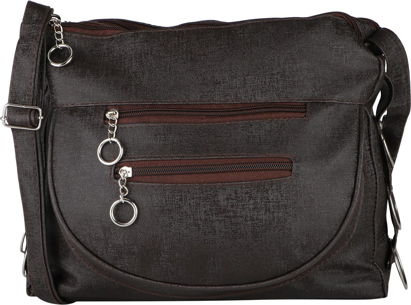 Sling bag below 500 - Bhuviart Women Multicolor Pu Sling Bag