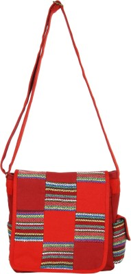 Anekaant Women Multicolor Canvas Sling Bag