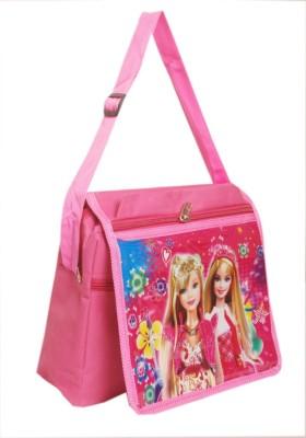 Oril Girls Pink Polyester Sling Bag