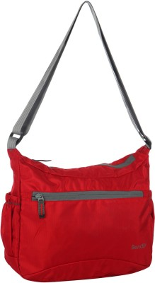 Bendly Women, Men Casual Red Polyester Sling Bag
