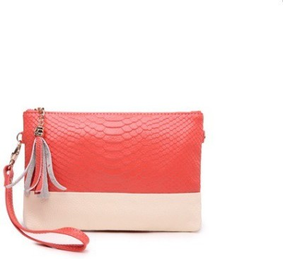 Blinge Women, Girls Casual, Formal, Evening/Party Pink, Red PU Sling Bag