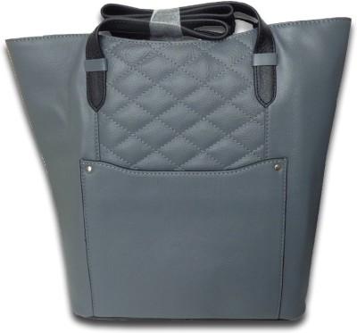 Style 98 Women Grey Genuine Leather Sling Bag
