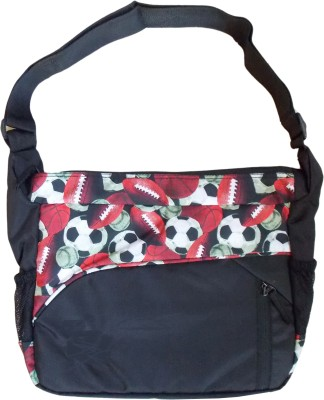 Majesty Boys, Girls Casual Red Polyester Sling Bag