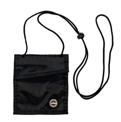 Viaggi Travel Accessories Men, Women Black Polyester Sling Bag