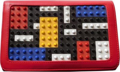 Reddish Girls Multicolor Rexine Sling Bag
