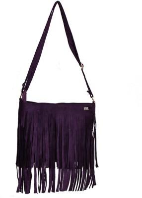 Glitter Glory Girls Purple PU Sling Bag