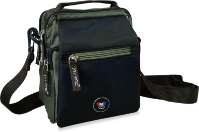 My Pac Db Men Khaki Polyester Sling Bag