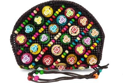Online Keeda Girls Multicolor Beads Sling Bag