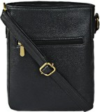 Bagsy Malone Women Black PU Sling Bag