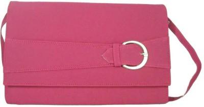 Estoss Women Pink Genuine Leather Sling Bag