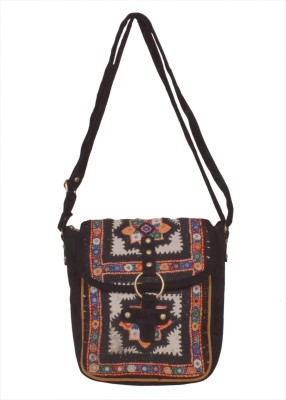 KDHS Women Multicolor Polyester Sling Bag
