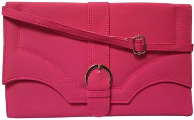 MTE Women Casual Pink PU Sling Bag