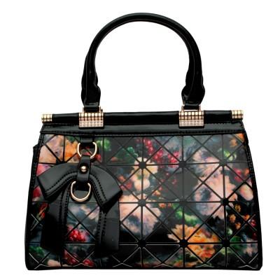 Ruff Women Brown PU Hand-held Bag