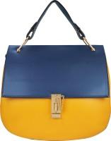 AZEEZ Girls Blue PU Hand-held Bag