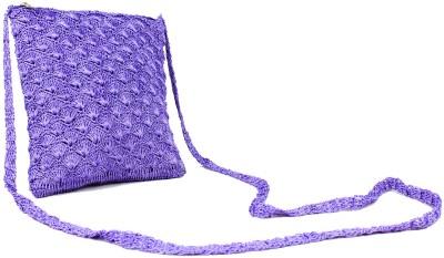 moKanc Women Casual, Evening/Party Purple Cotton Sling Bag