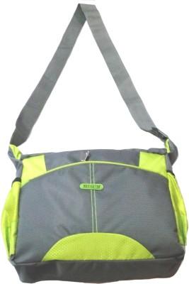 Navigator Boys, Girls Green, Grey Polyester Sling Bag