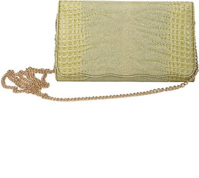 Mese Women Green PU Sling Bag