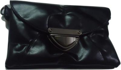 MIRAC Women Black PU Sling Bag