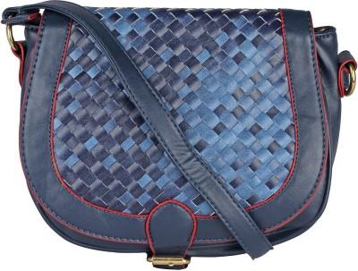 abrazo Girls, Women Blue PU Sling Bag