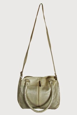 MTE Girls Casual White Leatherette Sling Bag
