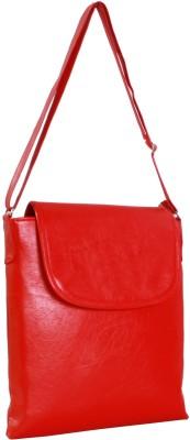 Gioviale Men, Women Formal Red PU Sling Bag
