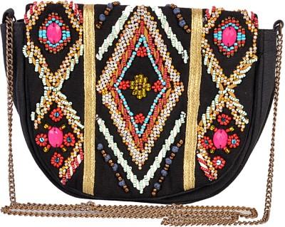 Diwaah Women Casual Multicolor Cotton Sling Bag