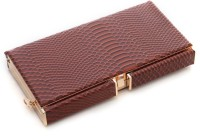 Foolzy Women Brown Leatherette Sling Bag