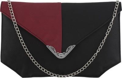 Fantosy Women Casual Black PU Sling Bag