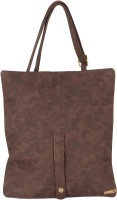 Merci Women Brown Leatherette Sling Bag