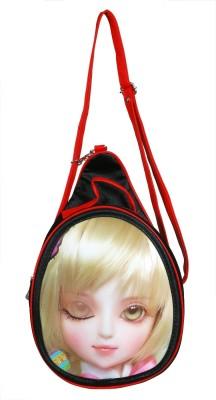 Triveni Women Multicolor Rexine Sling Bag