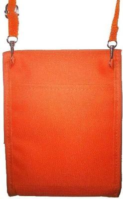 GoodLivingForever Girls, Women Orange Nylon Sling Bag