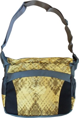 Majesty Boys, Girls Casual Yellow Polyester Sling Bag