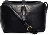Joker & Witch Women Black PU Sling Bag
