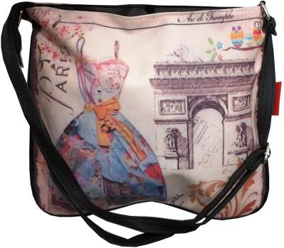Wrap Girls Multicolor Polyester Sling Bag