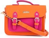 Chumbak Women Pink PU Sling Bag