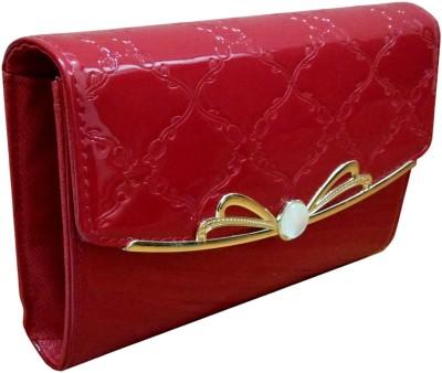 Lasslee Girls Red PU Sling Bag