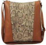 Kion Style Women Brown Leatherette Sling...