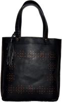 Pellezzari Women Black Genuine Leather, Cotton Sling Bag