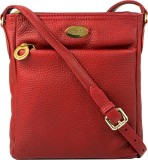 Hidesign Women Red Genuine Leather Sling...