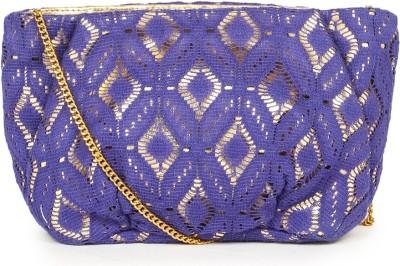 109F Women Blue PU Sling Bag