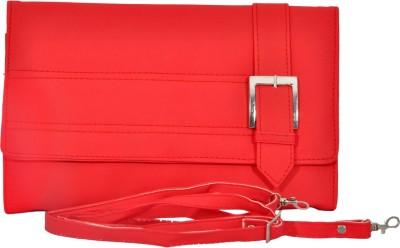 Pankhudi Women Red PU Sling Bag