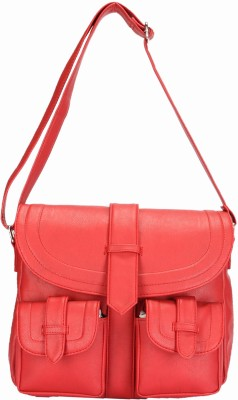 Starz Women, Girls Red PU Sling Bag