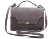 Voaka Women Maroon Leatherette Sling Bag