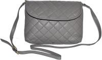 GREENFIELDS Women Grey Genuine Leather Sling Bag