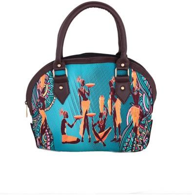 The G Street Women Blue Canvas Hand-held Bag