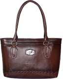 Divyanshi Collection Women Brown Leather...