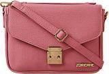 Zoricane Women Pink PU Sling Bag