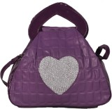 Naaz Bag Collection Women Purple PU Slin...