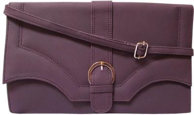 MTE Women Casual Purple PU Sling Bag