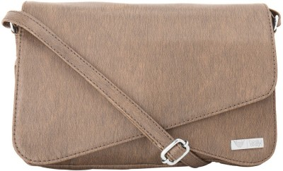 Beau Design Women Casual Brown PU Sling Bag